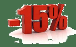15% off en servidores dedicados